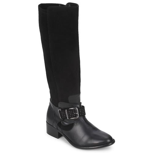 Sko Dame Chikke støvler Betty London ADELINE Sort
