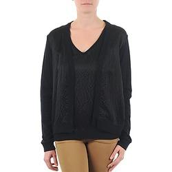 textil Dame Veste / Cardigans Majestic 238 Sort