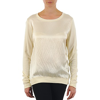 textil Dame Langærmede T-shirts Majestic 237 Beige