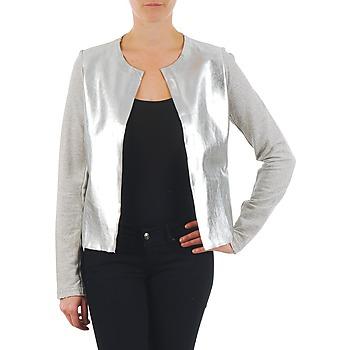 textil Dame Jakker / Blazere Majestic 93 Grå / Sølv