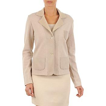 textil Dame Jakker / Blazere Majestic 244 BEIGE