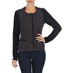 textil Dame Veste / Cardigans Marc O'Polo FANNIE Sort