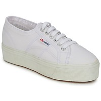 Sko Dame Lave sneakers Superga 2790 LINEA UP AND Hvid