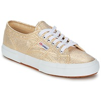 Sko Dame Lave sneakers Superga 2751 LAMEW Guld
