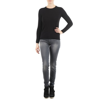 textil Dame Smalle jeans 7 for all Mankind THE SKINNY DARK STARS PAVE Grå