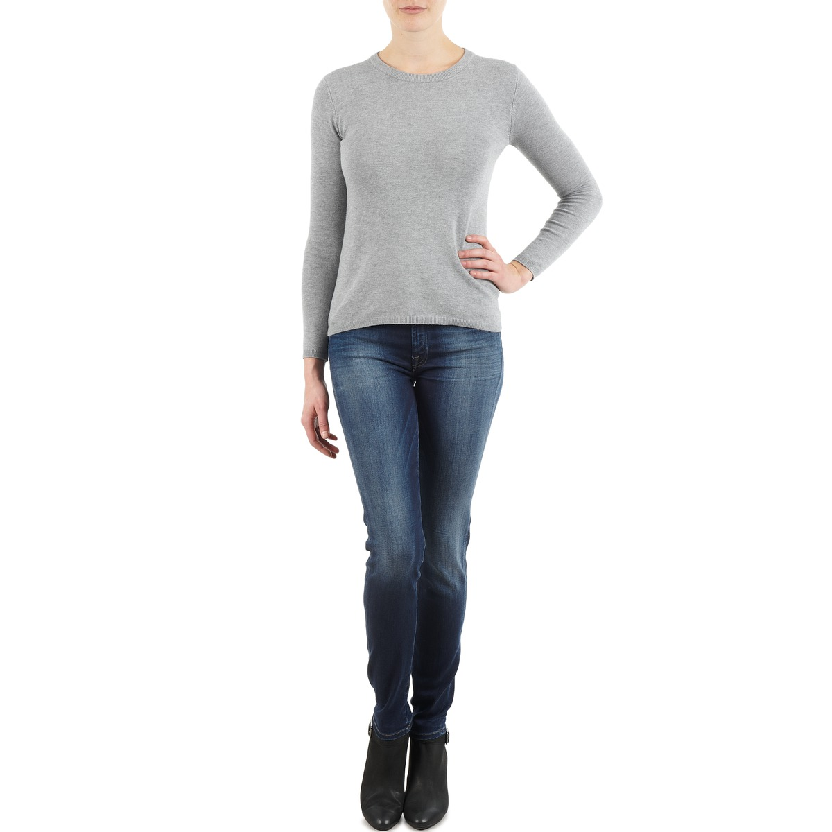 Smalle jeans 7 for all Mankind  THE SKINNY NEW ORL FLAME