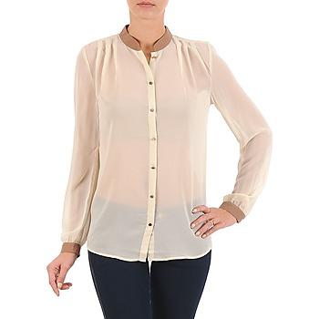 textil Dame Skjorter / Skjortebluser La City O CHEM LV Beige
