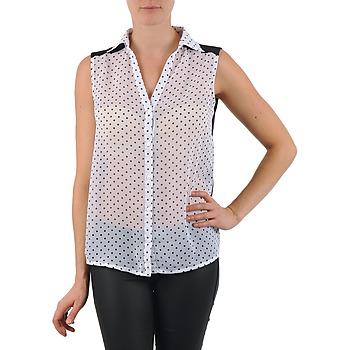 textil Dame Skjorter / Skjortebluser La City O DEB POIS Hvid