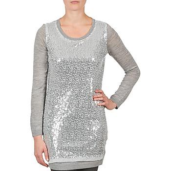 textil Dame Tunikaer La City PULL SEQUINS Grå