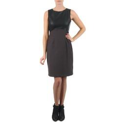 textil Dame Korte kjoler La City RTANIA Sort / Grå