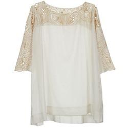 textil Dame Toppe / Bluser Stella Forest ATU030 Beige