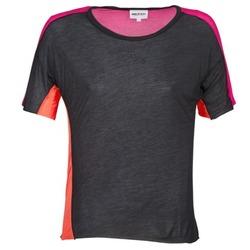 textil Dame T-shirts m. korte ærmer American Retro CAROLE Sort / Pink