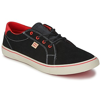Sko Dame Lave sneakers DC Shoes COUNCIL W Sort / Rød
