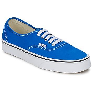 Sko Lave sneakers Vans AUTHENTIC Blå / Hvid