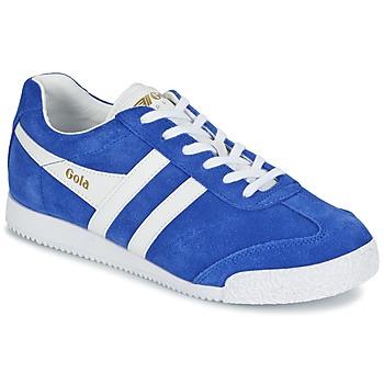 Sko Dame Lave sneakers Gola HARRIER Blå / Hvid