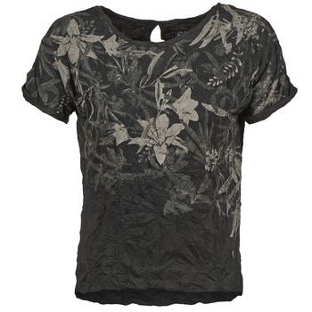 textil Dame T-shirts m. korte ærmer Oxbow NIANA Sort