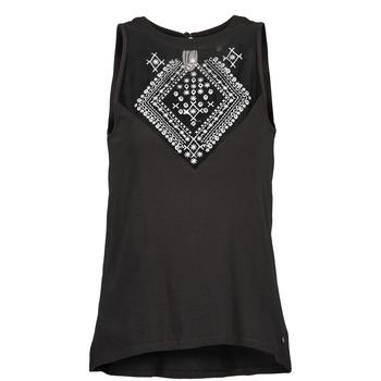 textil Dame Toppe / T-shirts uden ærmer Element ROSANA Sort