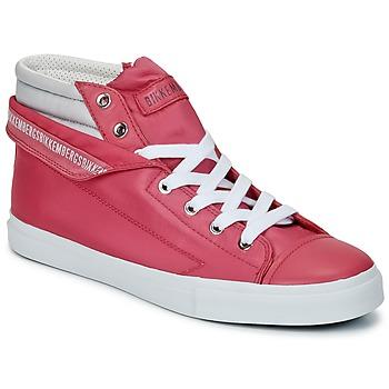 Sko Dame Høje sneakers Bikkembergs PLUS 647 Pink / Grå
