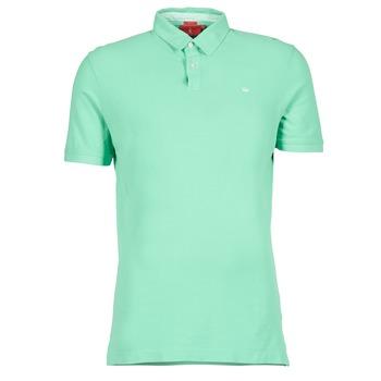 textil Herre Polo-t-shirts m. korte ærmer Vicomte A. GARMENT DYE Grøn