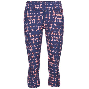textil Dame Leggings The North Face PULSE CAPRI TIGHT Marineblå / Pink