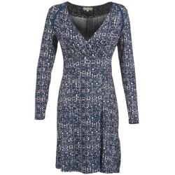 textil Dame Korte kjoler Cream OMAGA Blå