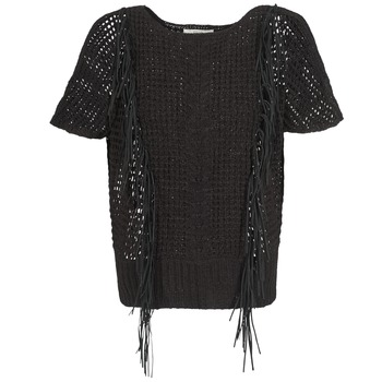 textil Dame Pullovere Gaudi SILENE Sort