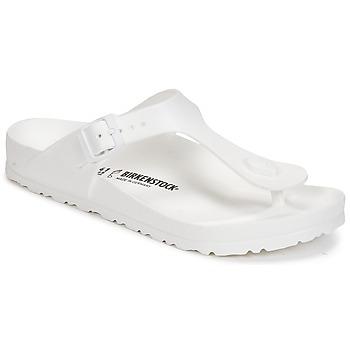 Sko Dame Flip flops Birkenstock GIZEH EVA Hvid
