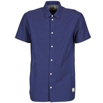 textil Herre Skjorter m. korte ærmer Suit DAN S Blå