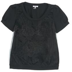 textil Dame Toppe / Bluser Brigitte Bardot BB44160 Sort