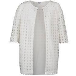 textil Dame Frakker Brigitte Bardot BB44197 Hvid