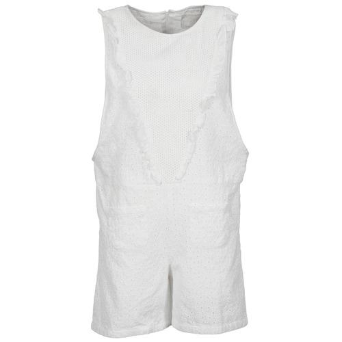 textil Dame Buksedragter / Overalls Brigitte Bardot BB44084 Hvid