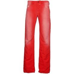 textil Herre Lige jeans Diesel SAFADO Rød