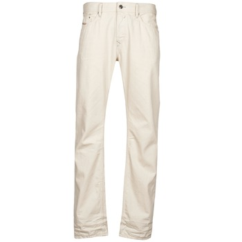 textil Herre Lige jeans Diesel WAYKEE Hvid