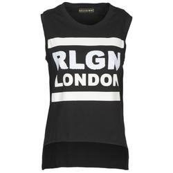 textil Dame Toppe / T-shirts uden ærmer Religion B123RGT41 Sort