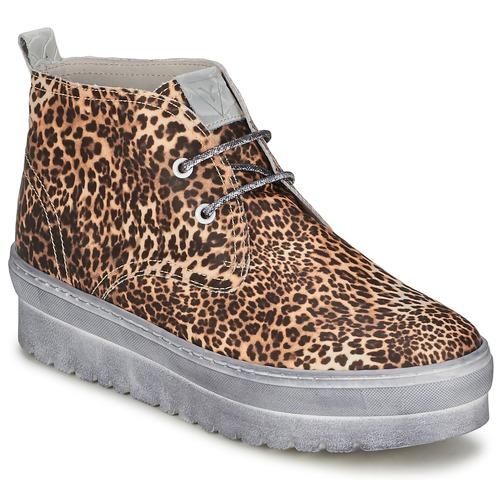 Sko Dame Høje sneakers Ylati BAIA F Leopard