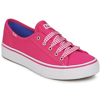 Sko Dame Lave sneakers Keds DOUBLE UP  fuchsia