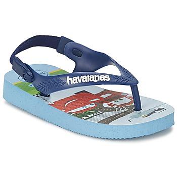 Sko Pige Flip flops Havaianas PIXAR Lavendel / Blå