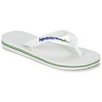 Sko Børn Flip flops Havaianas BRASIL LOGO Hvid