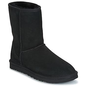 Sko Dame Støvler UGG CLASSIC SHORT Sort
