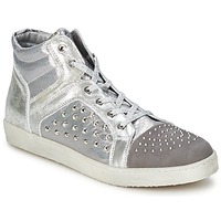 Sko Dame Høje sneakers Hip 90CR Sølv-kroko