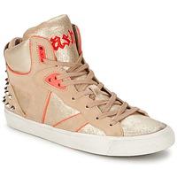 Sko Dame Høje sneakers Ash SPIRIT Beige / Pink