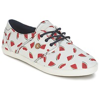 Sko Dame Lave sneakers Faguo CYPRESS Hvid / Rød