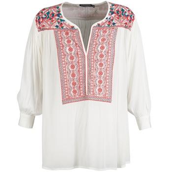 textil Dame Toppe / Bluser Antik Batik CAREYES Hvid