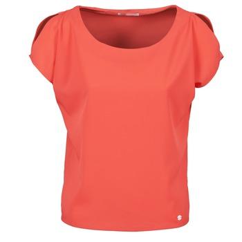 textil Dame T-shirts m. korte ærmer Les P'tites Bombes S145003 Rød