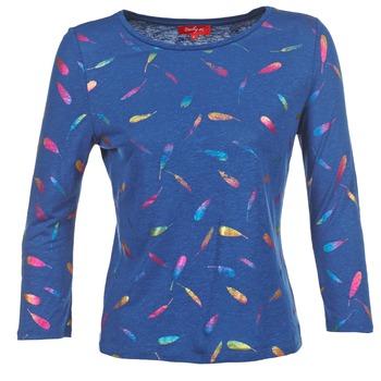 textil Dame Langærmede T-shirts Derhy GALOPIN Marineblå