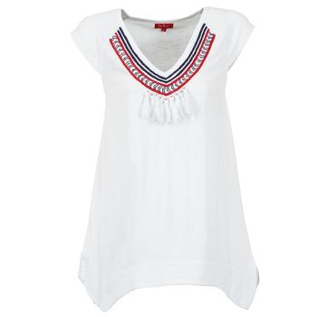 textil Dame T-shirts m. korte ærmer Derhy GALION Hvid