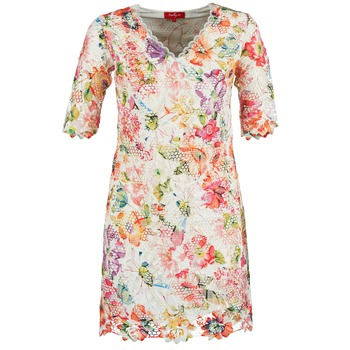 textil Dame Korte kjoler Derhy EBULLITION Beige