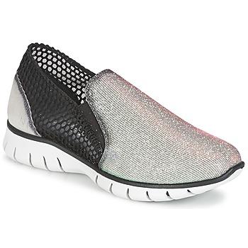 Sko Dame Lave sneakers Felmini ARJEMISE Sølv / Sort