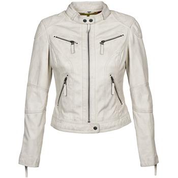 textil Dame Læderjakker Oakwood 60135 Hvid