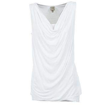 textil Dame Toppe / T-shirts uden ærmer Bench DUPLE Hvid